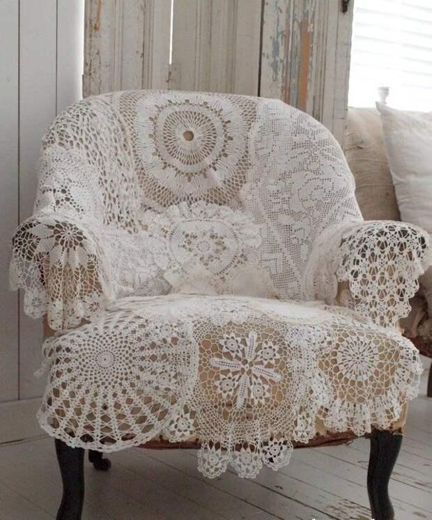 Кружевное кресло