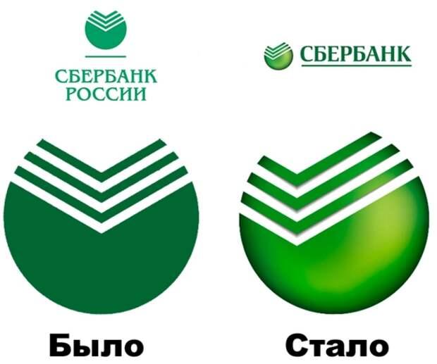 Сбербанк - ребрендинг