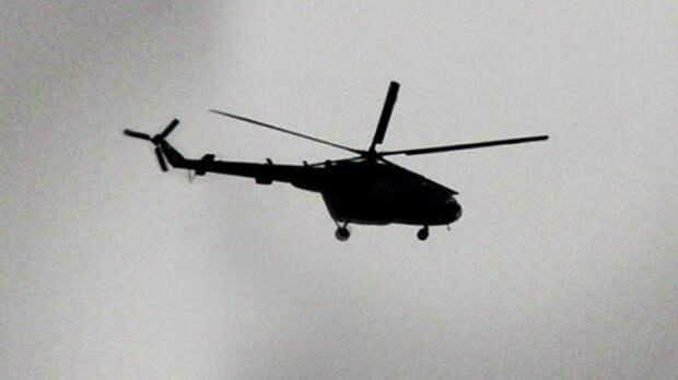 Вертолет разбился в Краснодарском крае