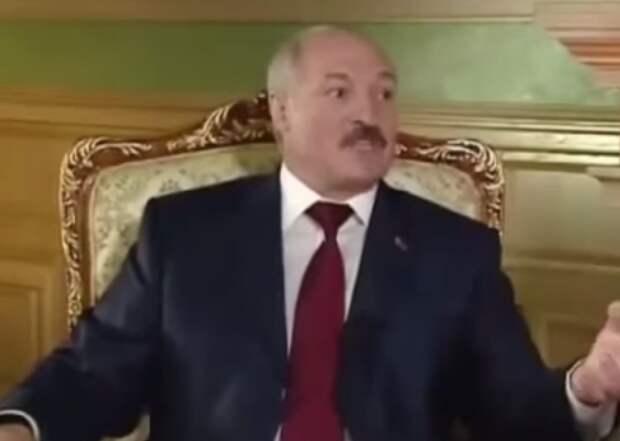 Лукашенко: ваше место под веником