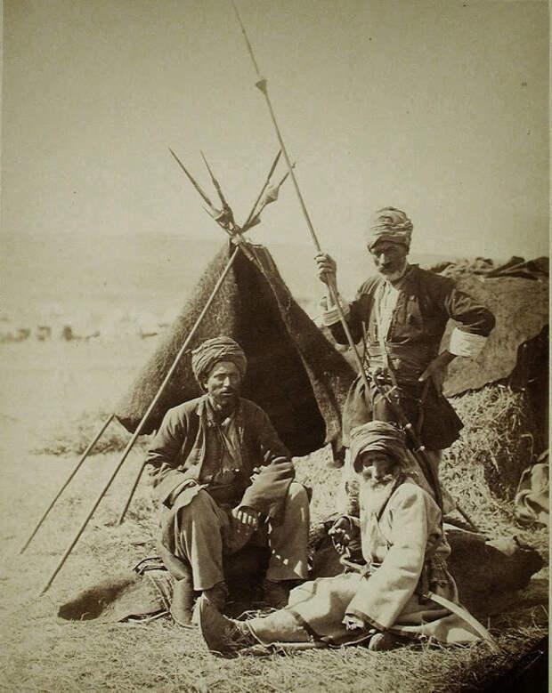 Курдские воины