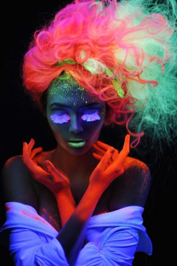 2.  вечеринка, волосы, краска для волос