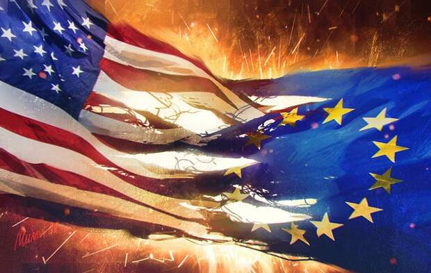 ЕС Евросоюз США