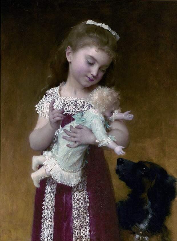 Умилительные картины французского художника Эмиля Мунье