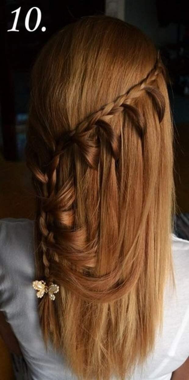 Плетение вокруг волос (diy)