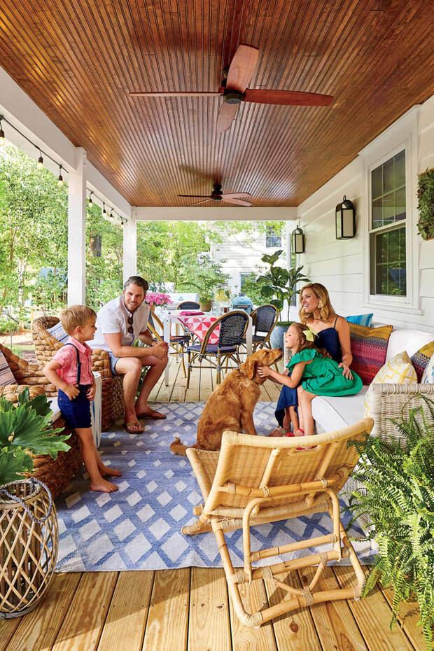 Классический американский дом в Уилмингтоне, штат Северная Каролина
