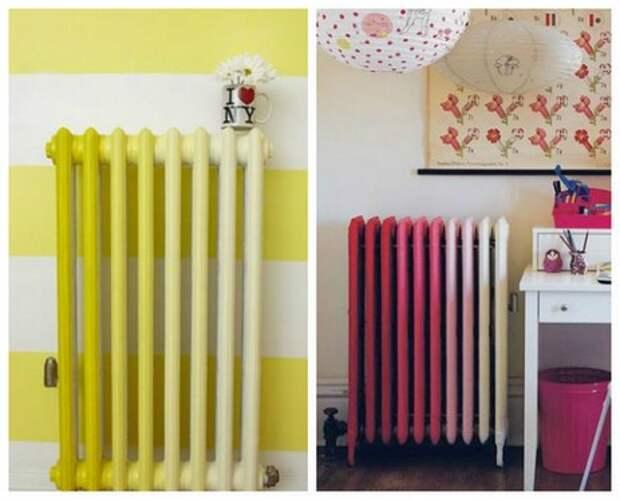 в какой цвет покрасить радиатор