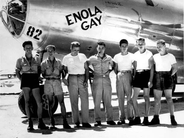 Enola Gay(B-29-45-MO, серийный номер 44-86292)стратегический бомбардировщик Boeing B-29 Superfortress армии США