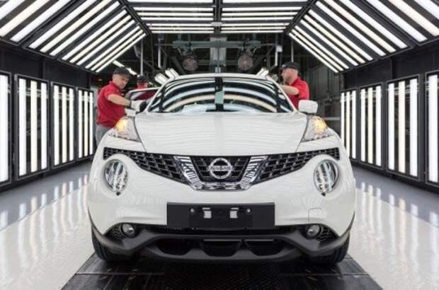 Сборка Nissan Juke