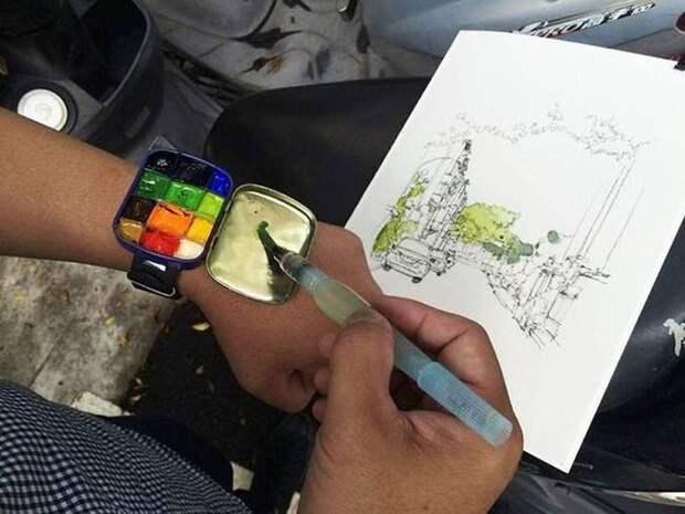 Переносные краски