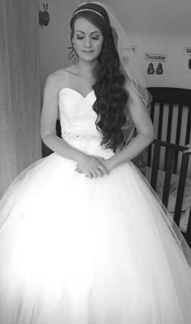 Свадебное платье стало стимулом для похудения