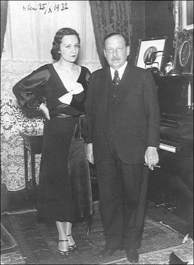 Имре Кальман и Вера Макинская, 1932 год.jpg