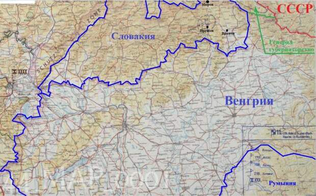 Разведка о немецкой пехоте и кавалерии у границы СССР