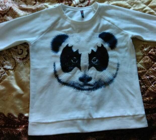 Панда в стиле хэви металл