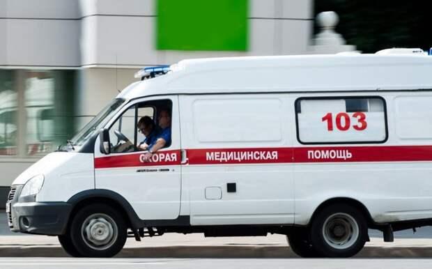На Митинской пассажирка автобуса пострадала в ДТП