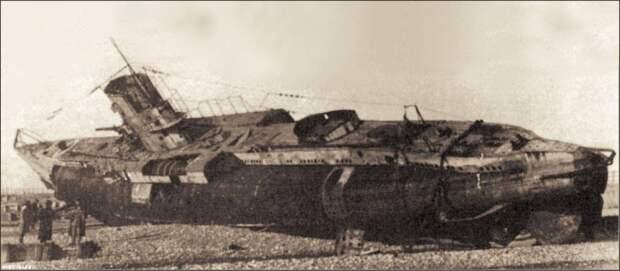 Немецкая подлодка времен Первой Мировой в деталях