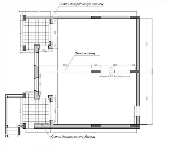 Перепланировка квартиры 100 м
