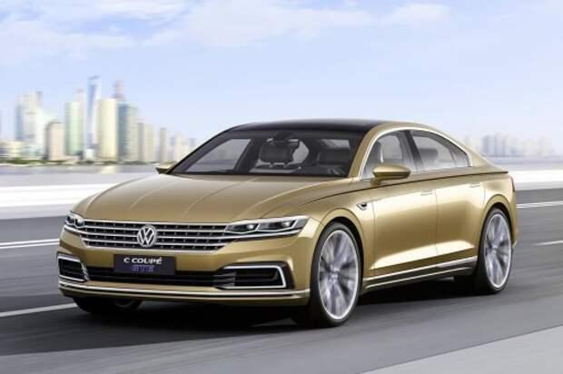 В Шанхае дебютировал седан VW C Coupe GTE