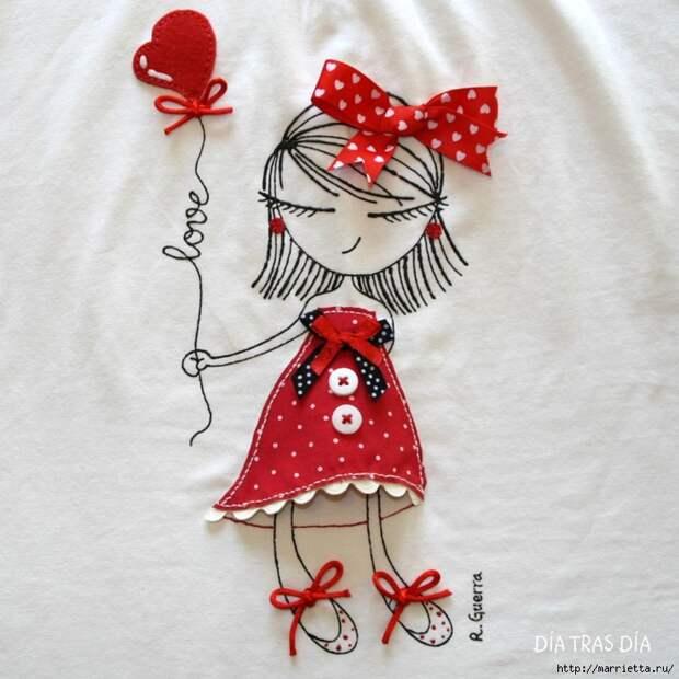 Аппликация с вышивкой на детских футболках (38) (700x700, 317Kb)