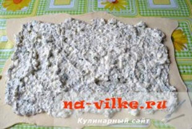 Пирог Семейка с сыром фета и зеленью