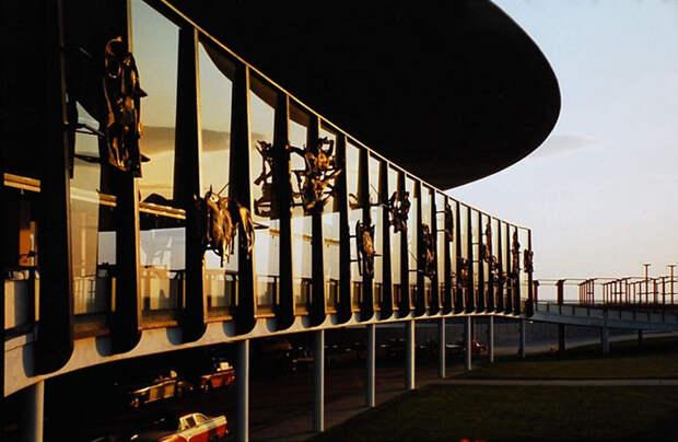 Международный аэропорт имени Джона Кеннеди в 1961-м году