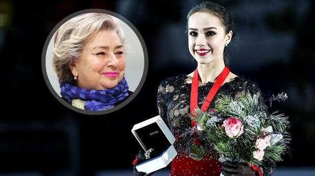 Тарасова поздравила Загитову ссовершеннолетием: «Желаю Алине счастливой жизни!»