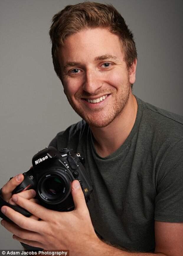 Успешный фотограф Адам Джейкобс.