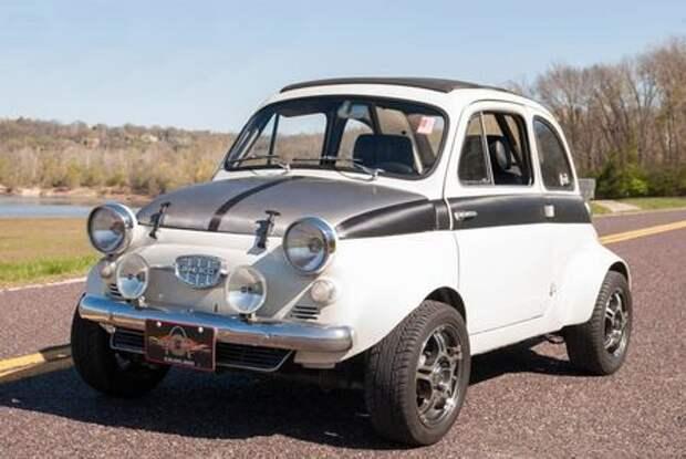 «Горбатого» Subaru исправит: Fiat 500 получил 300-сильный мотор