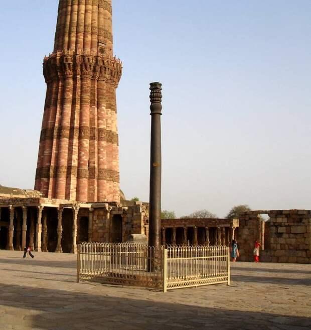 Загадка индийской железной колонны