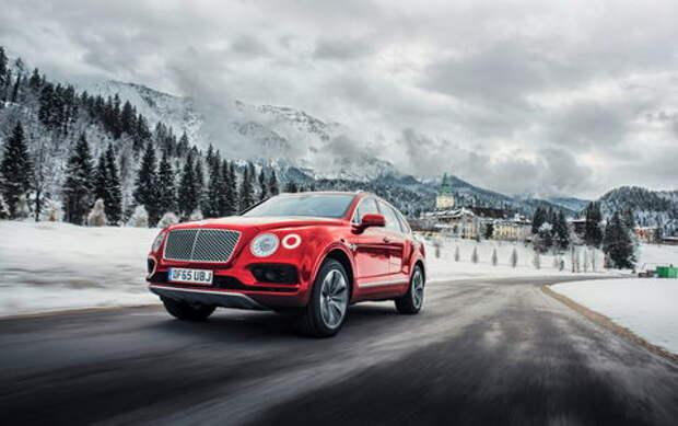 Тест  Bentley Bentayga: «спорт», только «спорт»!