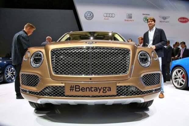 Bentley шокирует кроссовером Bentayga