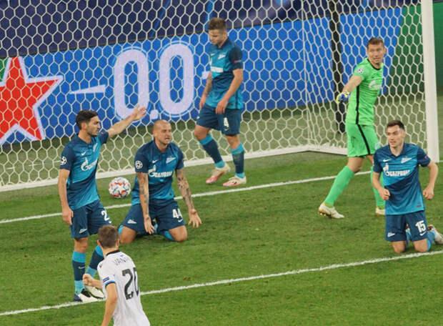 В Лиге чемпионов «Зенит» играет «вторым номером». Но разве в чемпионате он отрабатывает такую схему? Вот и выходит трусливый футбол…