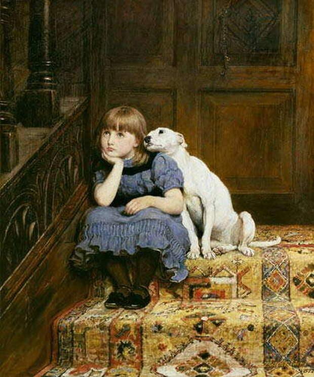 Животные на картинах английского живописца 19 века