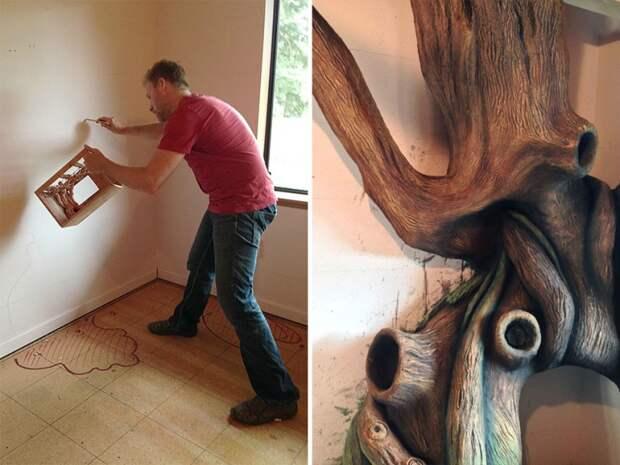 дерево в детской ремонт своими руками