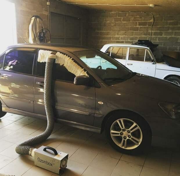 Как устранить запах табака в салоне автомобиля?