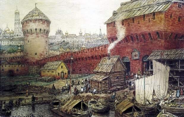 Стародавняя Россия в картинах Аполлинария Васнецова.