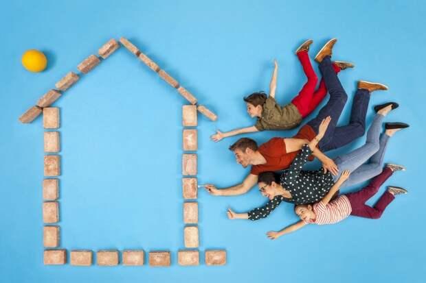 Семейную ипотеку распространили на строительство частных домов