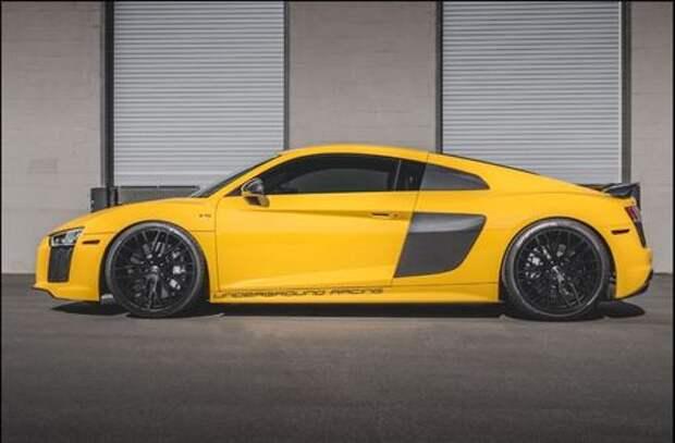 Audi R8 разменял третью тысячу «лошадей»