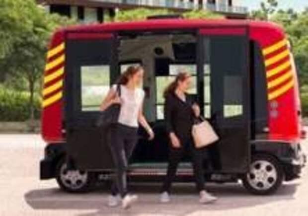 Автобус без водителя запустили в Каталонии