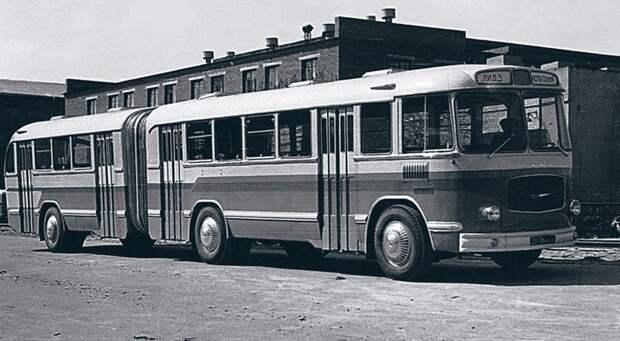 ЛиАЗ-5Э-676, история, советские автобусы, транспорт