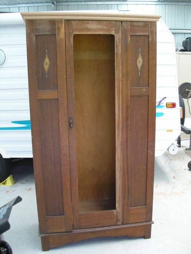 Преображение старого шкафа