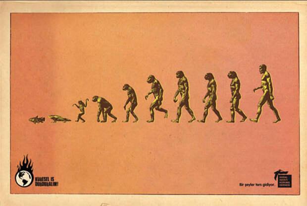 Эволюция по-турецки: люди мутируют в рыб!
