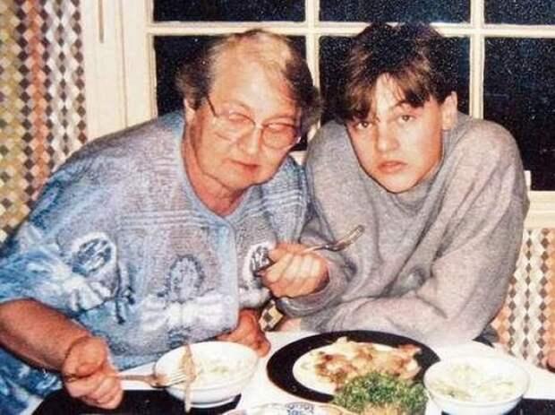 Леонардо Ди Каприо и его русская бабушка Елена Степановна Смирнова.