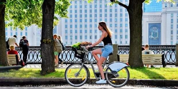 10 июля в Беговом увеличат время бесплатного велопроката