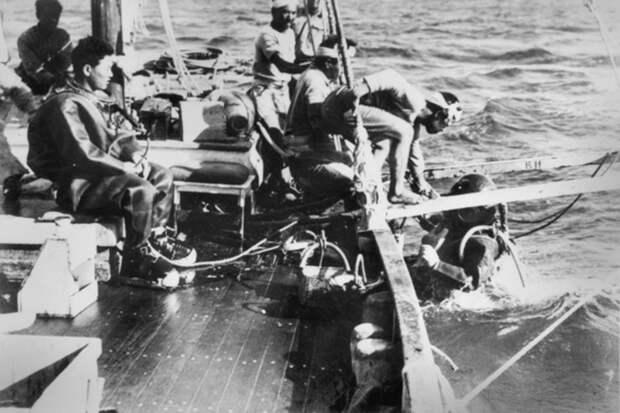 Японские искатели жемчуга, работавшие в Бруме перед войной. awm.gov.au - «Неистовые орлы» в стране кенгуру | Warspot.ru