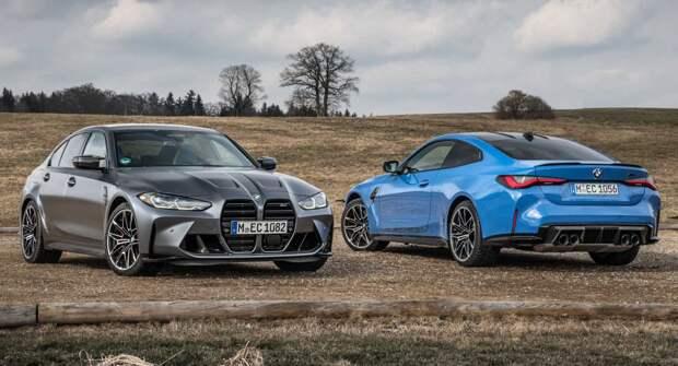 BMW представила совершенно новые M3 Competition xDrive и M4 Competition xDrive 2022 года