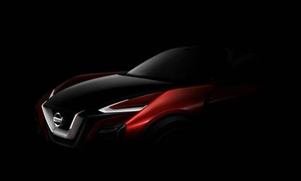 Nissan показал тизер концепта кроссовера