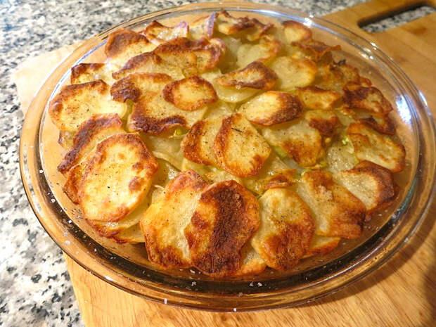 Хрустящий картофель «АННА» кухня, топлёное масло, факты