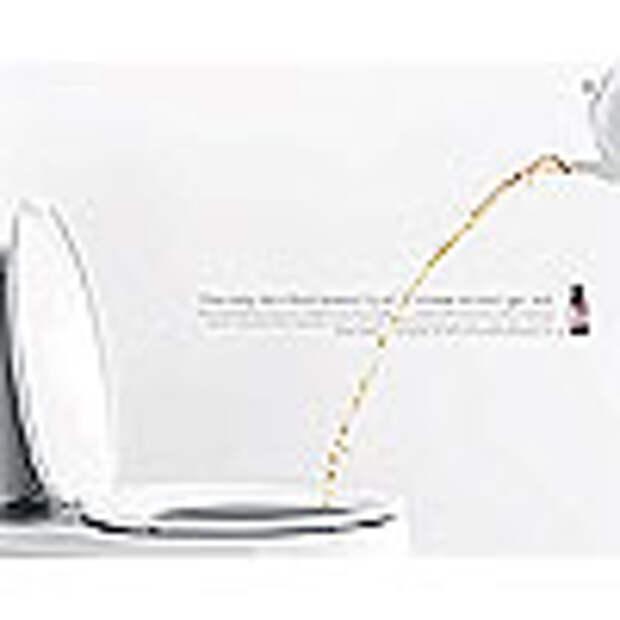 Писающий чайник в «благотворительной» рекламе