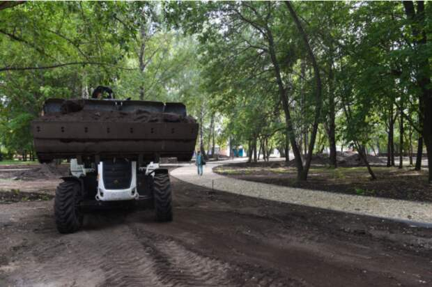 В Нижнекамске в строительство сквера по улице Юности вложили почти 29 млн рублей